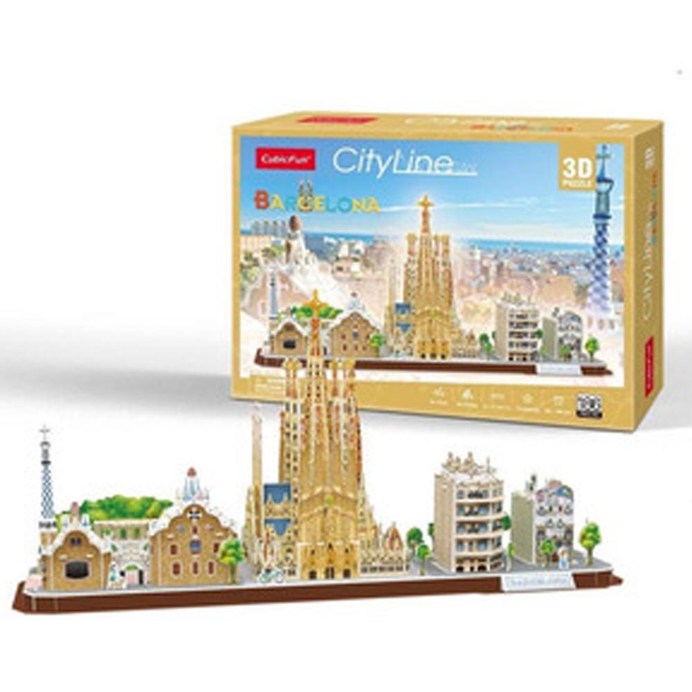 Cuy Games - CF- 186 PIEZAS - BARCELONA 3D (CITYLINE) -