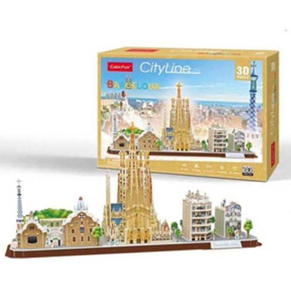 CF- 186 PIEZAS – BARCELONA 3D (CITYLINE)