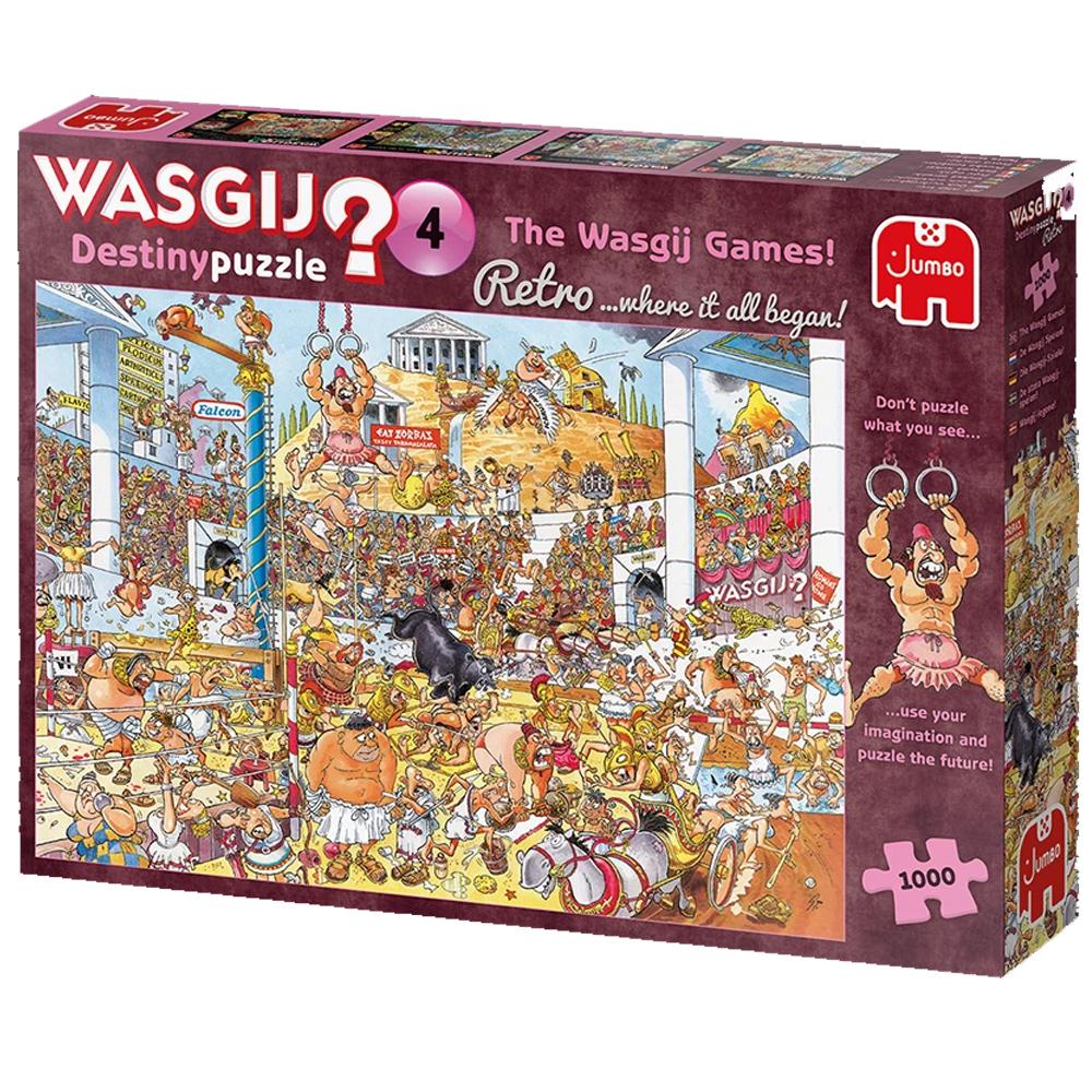 Cuy Games - 1000 PIEZAS - THE WASGIJ GAMES! -