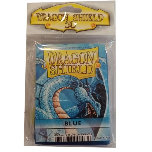 DRAGON SHIELD AZUL