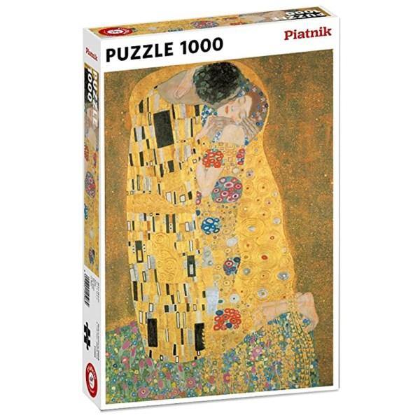 1000 PIEZAS – METALLIC KLIMT – EL BESO