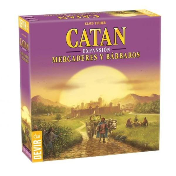 CATAN EXPANSION MERCADERES Y BARBAROS