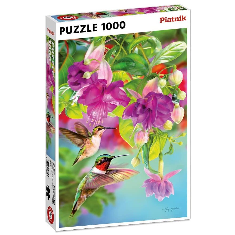 Cuy Games - 1000 PIEZAS - HUMMINGBIRDS -