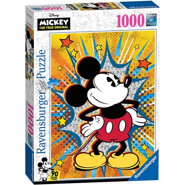 Cuy Games - 1000 PIEZAS - MICKEY RETRO -