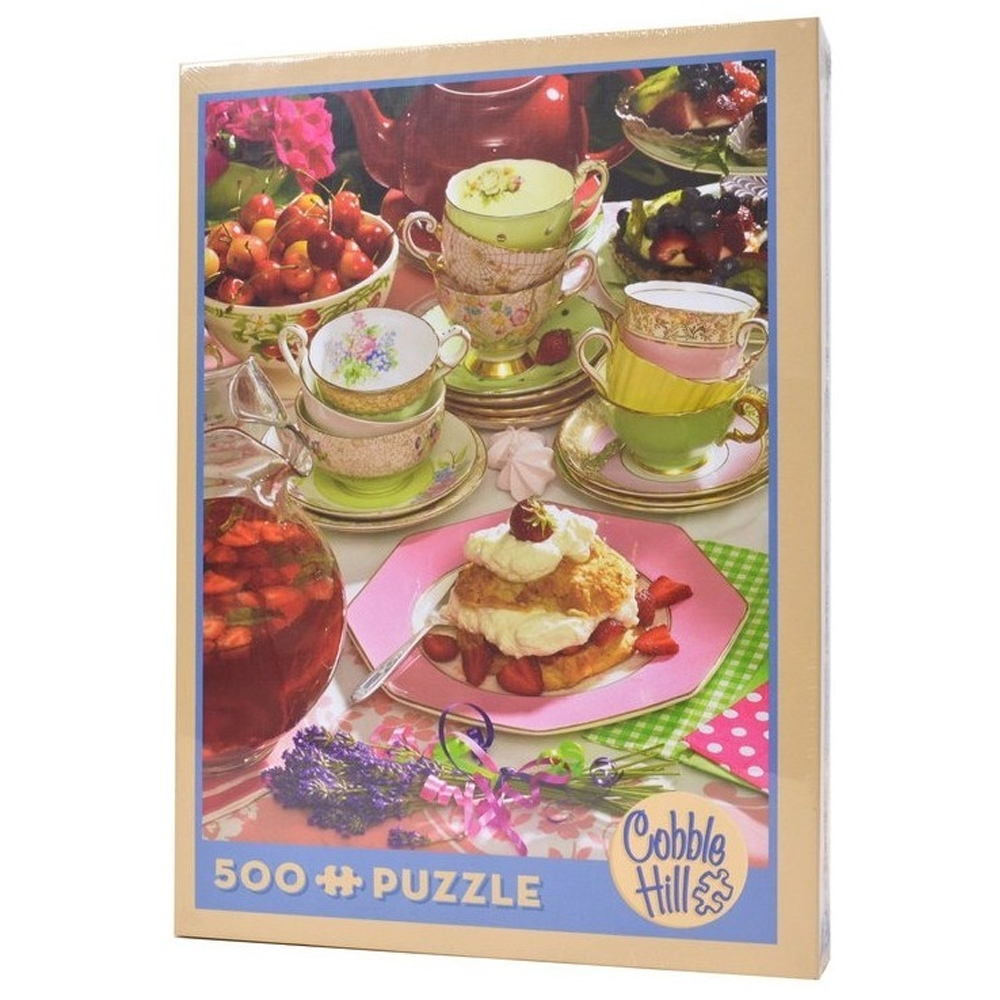 Cuy Games - 500 PIEZAS - STRAWBERRY TEA -