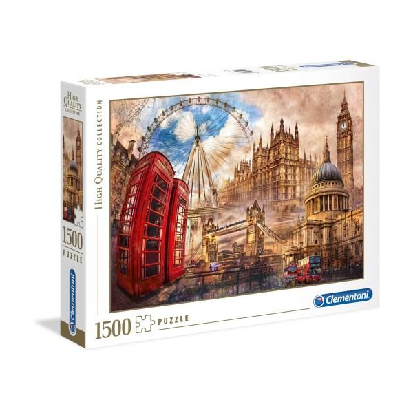 Cuy Games - 1500 PIEZAS - VINTAGE LONDON/LONDRES -