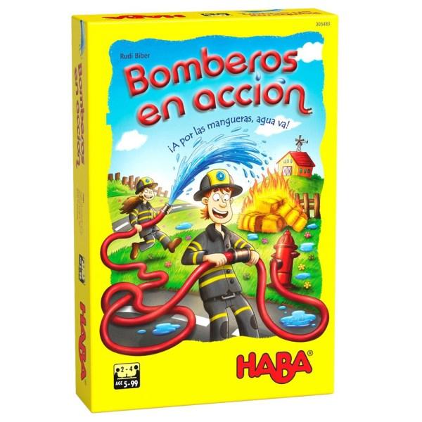 BOMBEROS EN ACCION