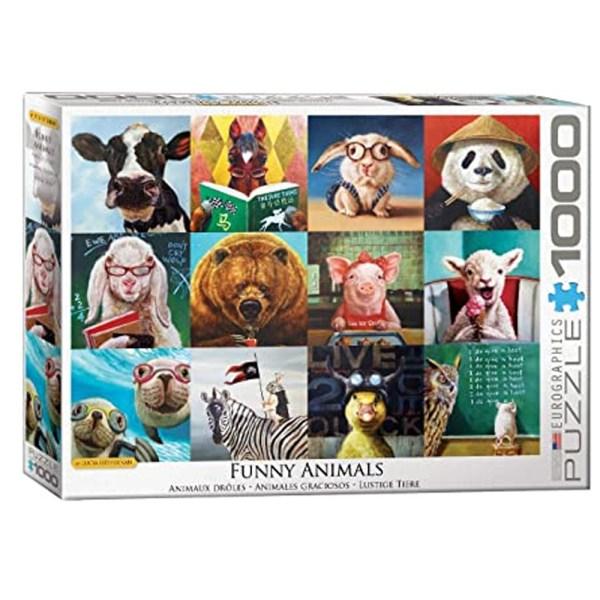 Cuy Games - 1000 PIEZAS - ANIMAL PORTRAITS BY LUCIA HEFFERNAN -