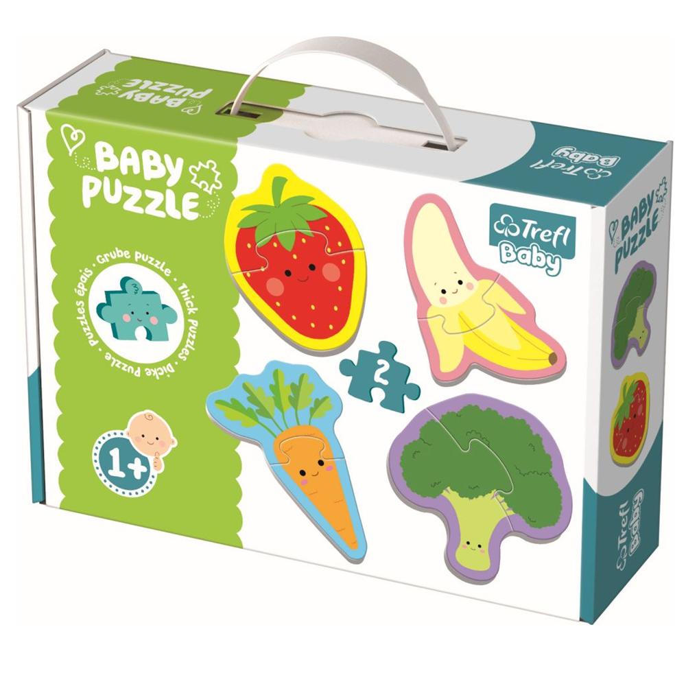 Cuy Games - INFANTIL - BABY PUZZLE - VEGETALES Y FRUTAS -
