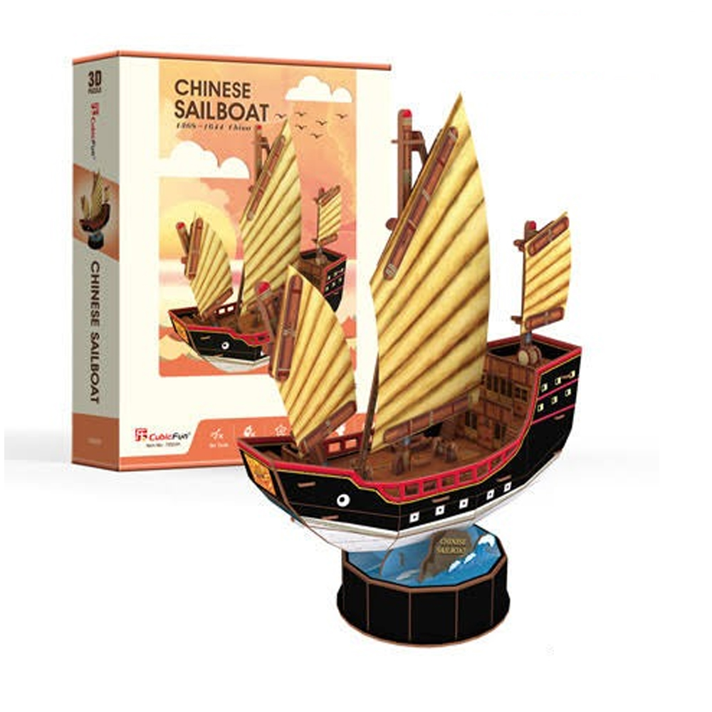 Cuy Games - CF - 62 PIEZAS - CHINESE SAILBOAT -