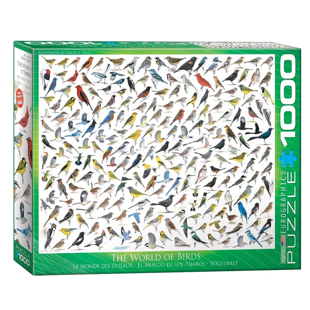 Cuy Games - 1000 PIEZAS - THE WORLD OF BIRDS BY DAVID SIBLEY -