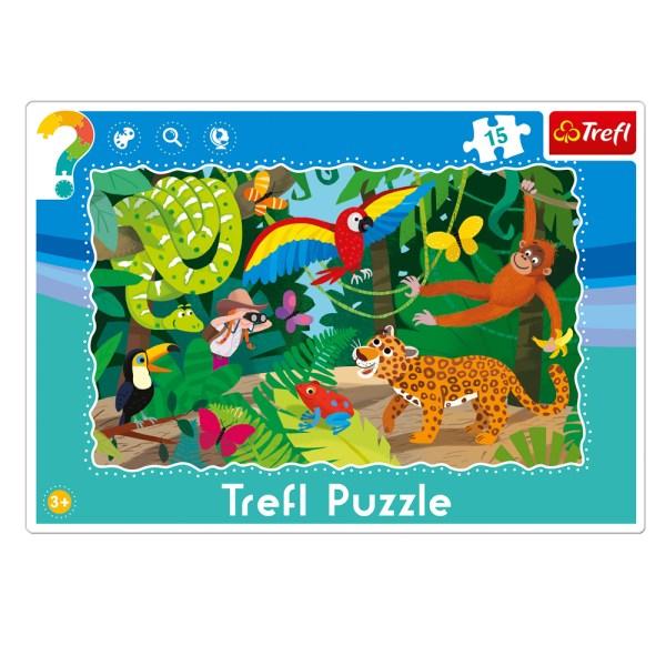 Cuy Games - INFANTIL - 15 PIEZAS - BOSQUE TROPICAL -