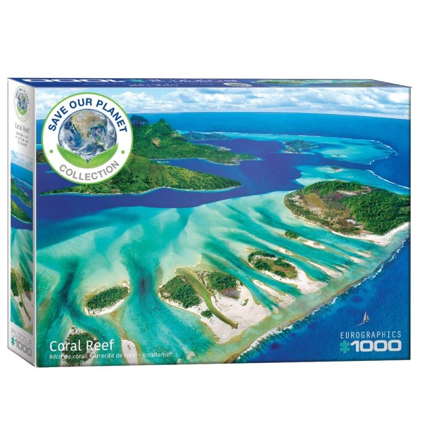 Cuy Games - 1000 PIEZAS - SAVE OUR PLANET! CORAL REEF -