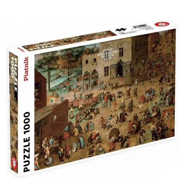 Cuy Games - 1000 PIEZAS - BRUEGEL, CHIDRENS GAMES -
