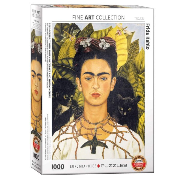 Cuy Games - 1000 PIEZAS - SELF-PORTRAIT BY FRIDA KAHLO -