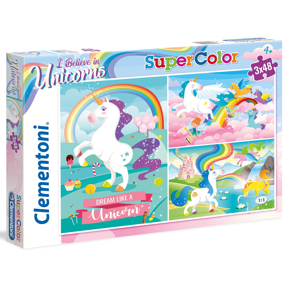 Cuy Games - INFANTIL - 3 X 48 - I BELIVE IN UNICORNS -