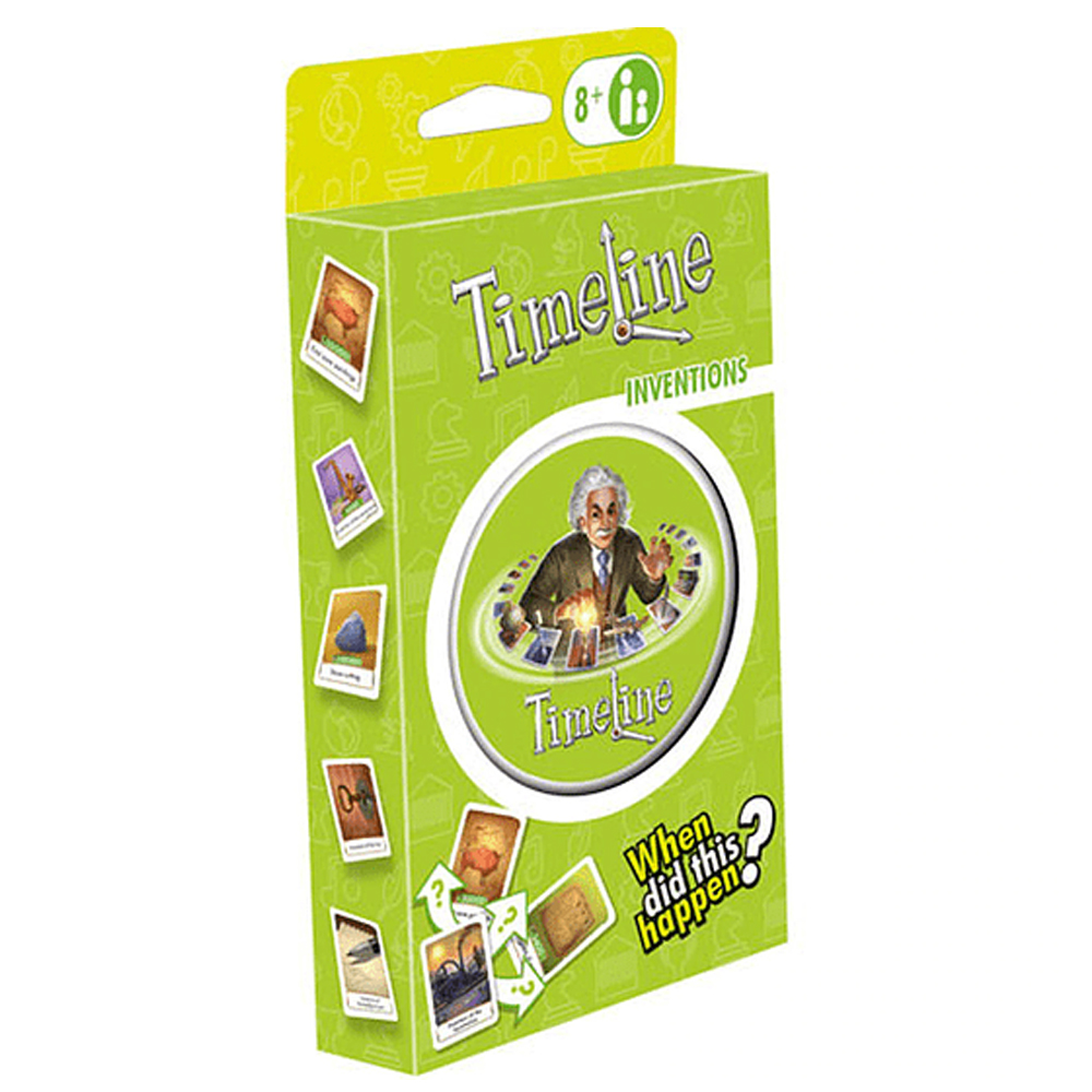 Cuy Games - TIMELINE ECOPACK INVENTOS -