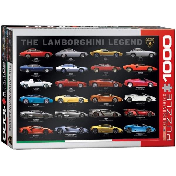 Cuy Games - 1000 PIEZAS - THE LAMBORGHINI LEGEND -
