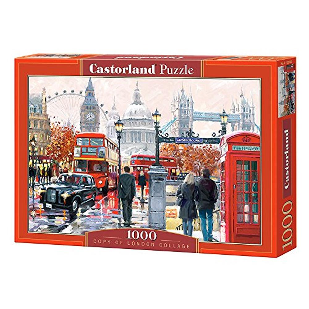 Cuy Games - 1000 PIEZAS - LONDON/LONDRES COLLAGE -