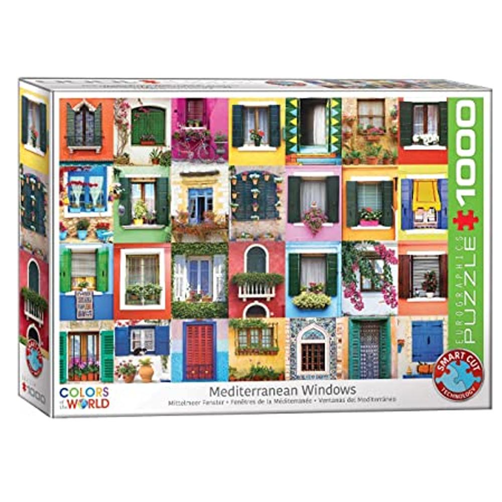 Cuy Games - 1000 PIEZAS - MEDITERRANEAN WINDOWS -
