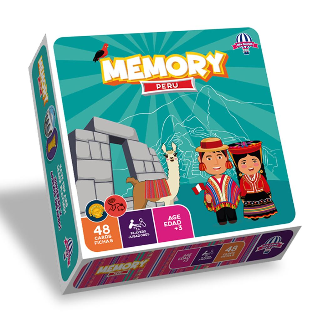 Cuy Games - MEMORY PERU -