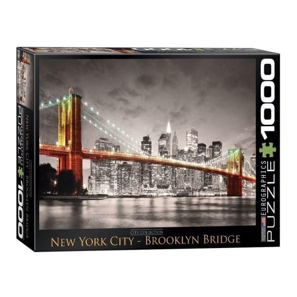 Cuy Games - 1000 PIEZAS - NEW YORK CITY BROOKLYN BRIDGE -