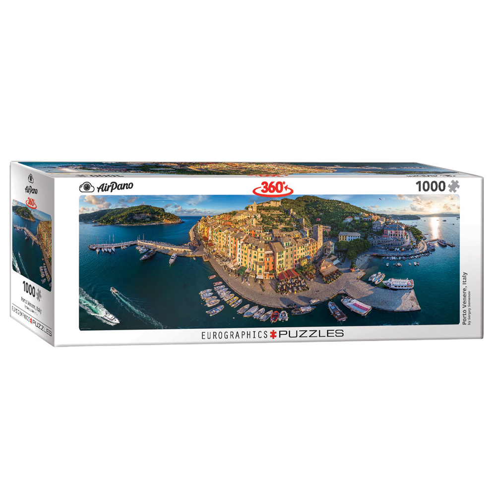 Cuy Games - 1000 PIEZAS - PORTO VENERE ITALY PANORAMIC -