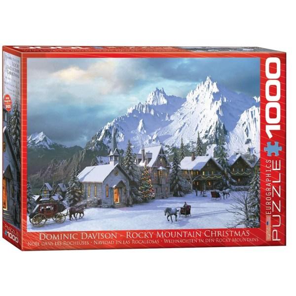 1000 PIEZAS – DAVIDSON -ROCKY MOUNTAIN XMAS
