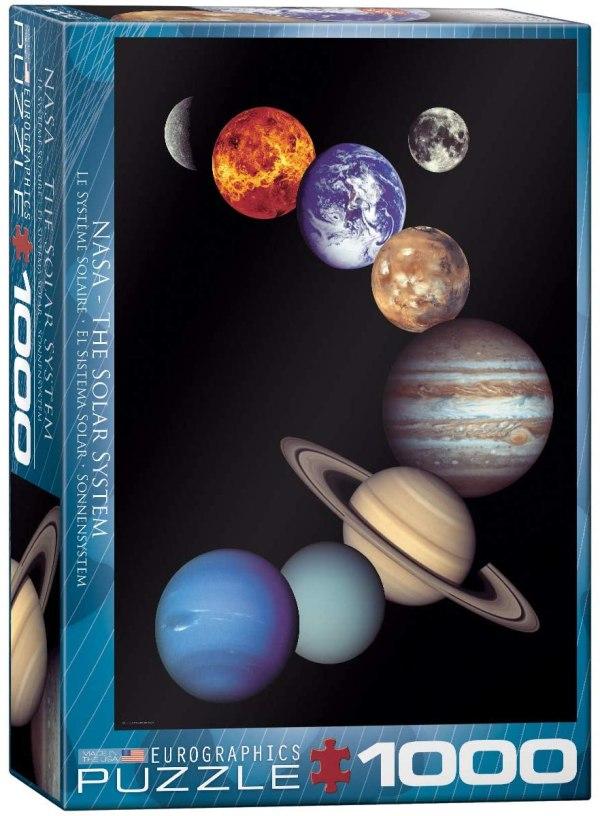 Cuy Games - 1000 PIEZAS - SISTEMA SOLAR -