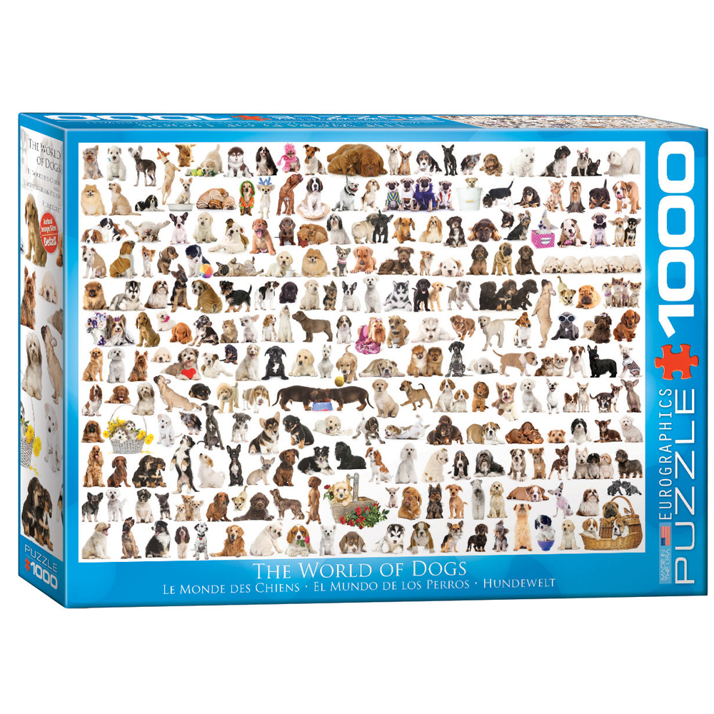 Cuy Games - 1000 PIEZAS - WORLD OF DOGS -