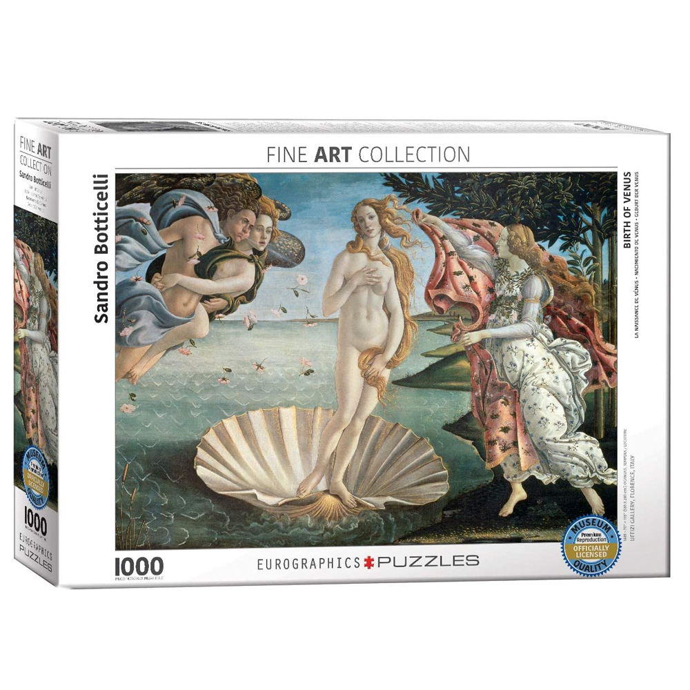 Cuy Games - 1000 PIEZAS - BIRTH OF VENUS BY SANDRO BOTTICELLI -