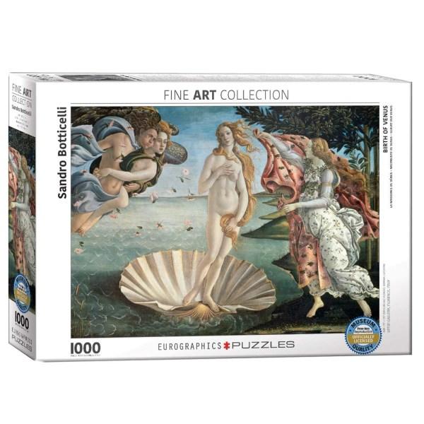 1000 PIEZAS – BIRTH OF VENUS BY SANDRO BOTTICELLI