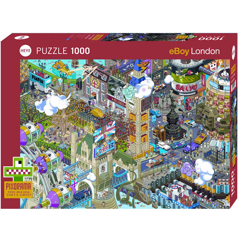 Cuy Games - 1000 PIEZAS - London/LONDRES Quest -