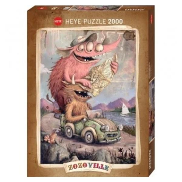Cuy Games - 2000 PIEZAS - ZOZOVILLE - Road Trippin -