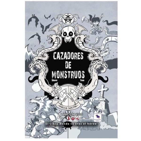 LIBRO JUEGO: CAZADORES DE MONSTRUOS