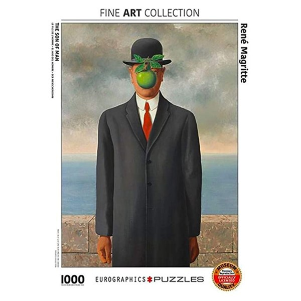 1000 PIEZAS – Son of Man by Rene Magritte
