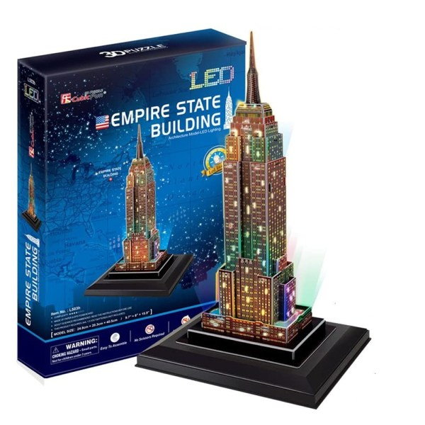 Cuy Games - 38 PIEZAS - EMPIRE STATE BUILDING LED -