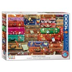 Cuy Games - 1000 PIEZAS - Travel Suitcases -