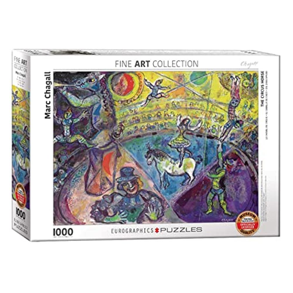 Cuy Games - 1000 PIEZAS - Chagall - Le Cheval de Cirque -