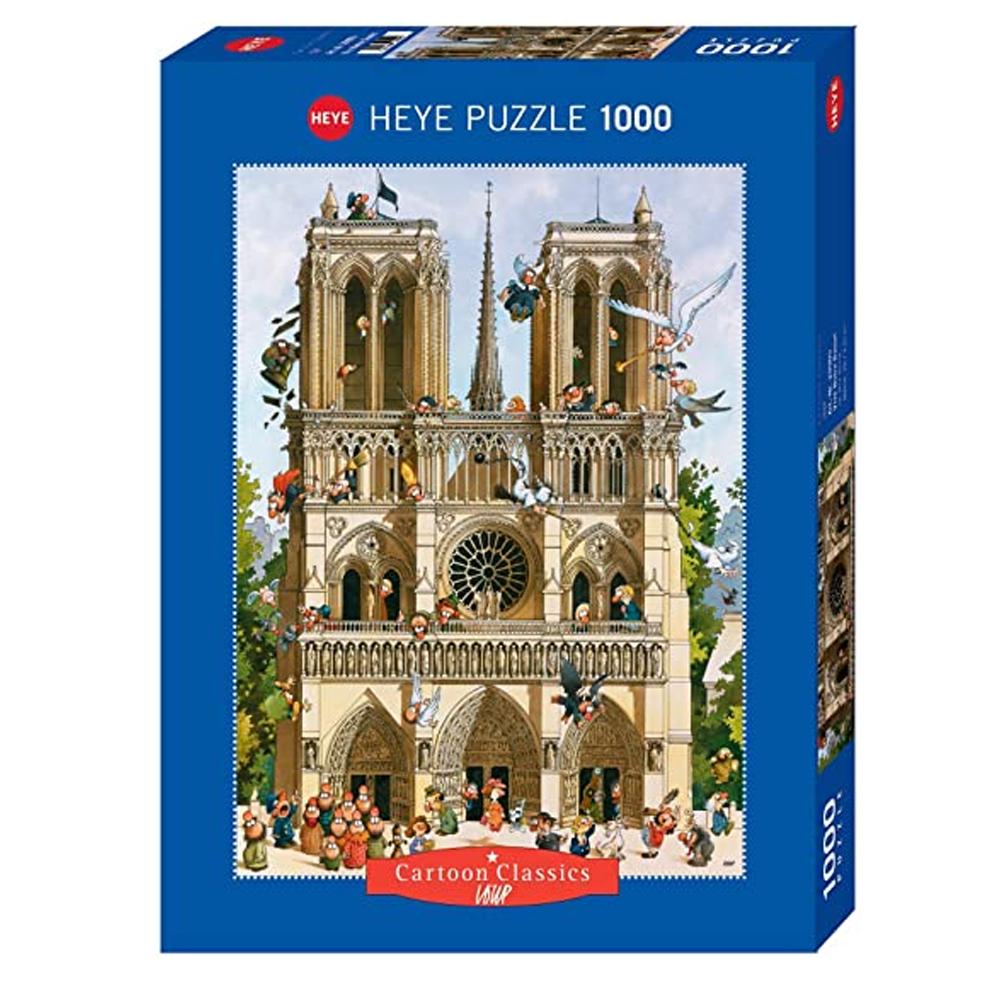Cuy Games - 1000 PIEZAS - Vive Notre Dame! -