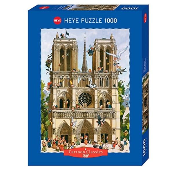 1000 PIEZAS –  Vive Notre Dame!