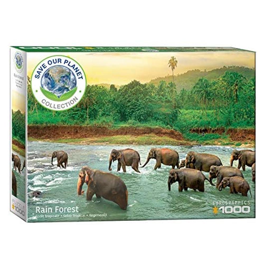 Cuy Games - 1000 PIEZAS - Rainforest -