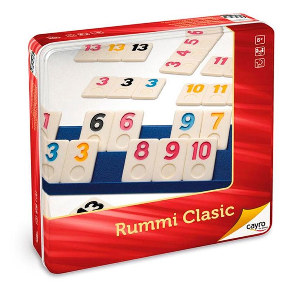 Cuy Games - RUMMI CLASICO CAJA METALICA -