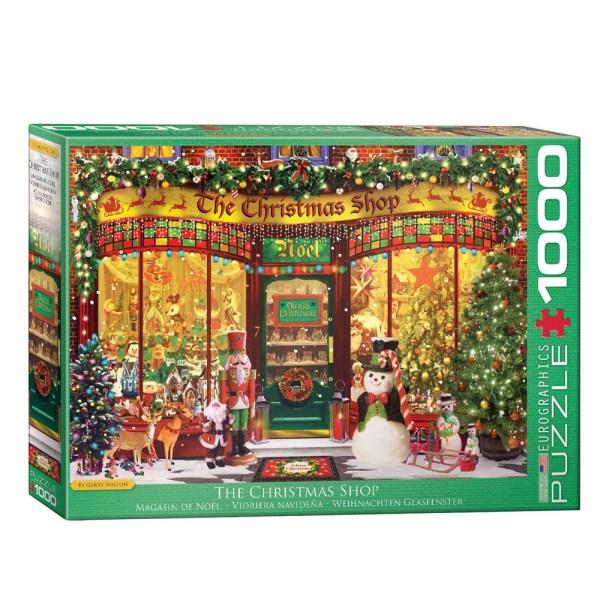 1000 PIEZAS – The Christmas Shop by G.Walton