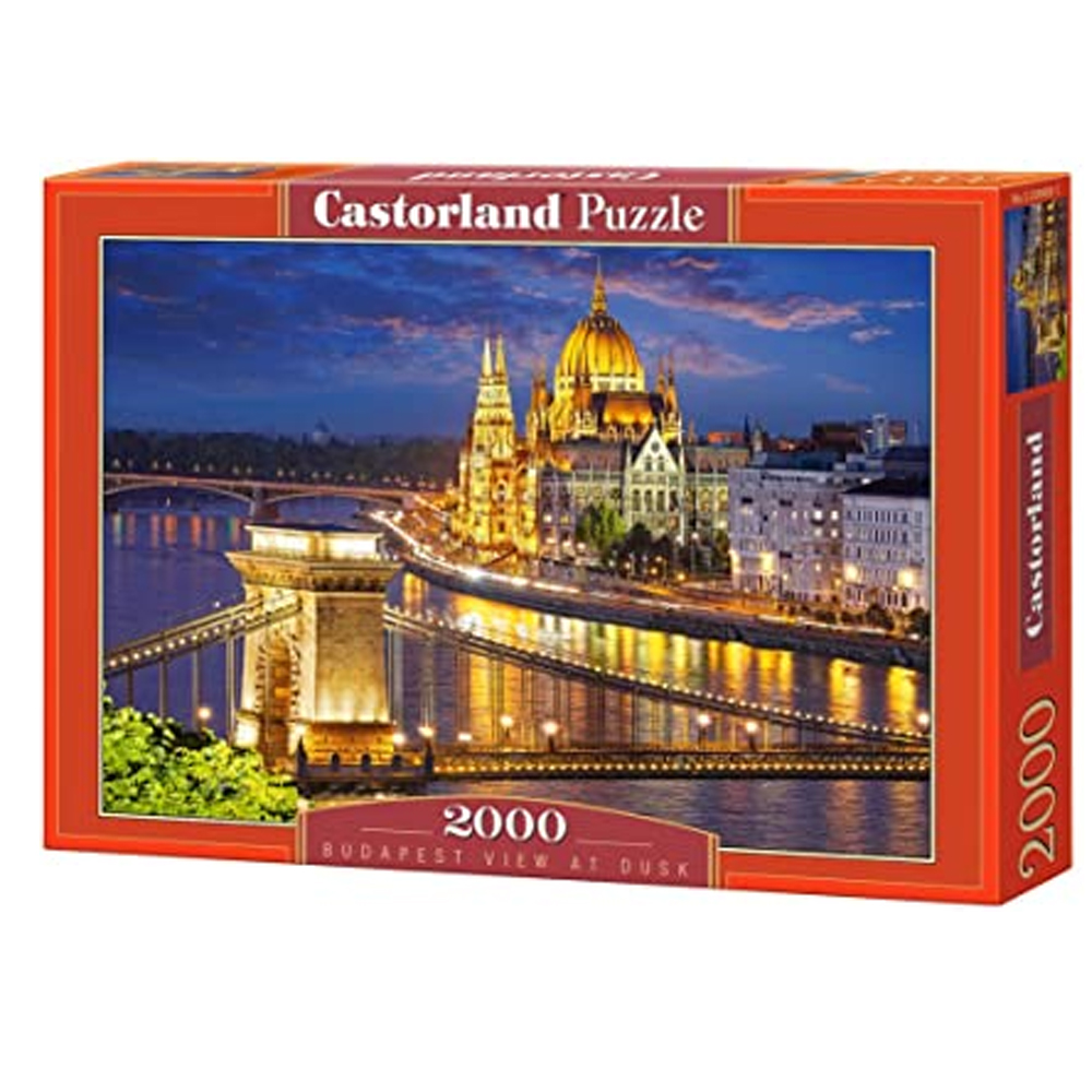 Cuy Games - 2000 PIEZAS - BUDAPEST VIEW AT DUSK -