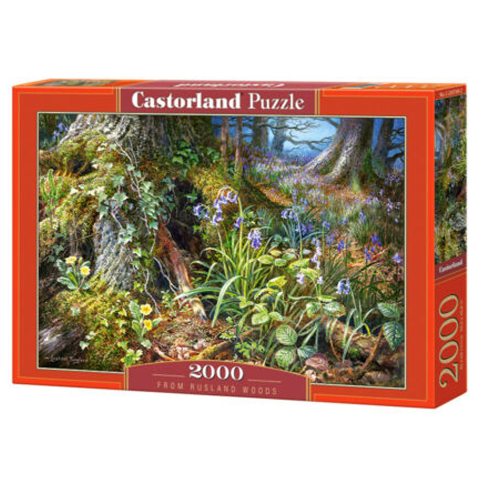 Cuy Games - 2000 PIEZAS - FROM RUSLAND WOODS -