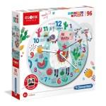 Cuy Games - INFANTIL - 96 PIEZAS CLOCK PUZZLE LLAMA -