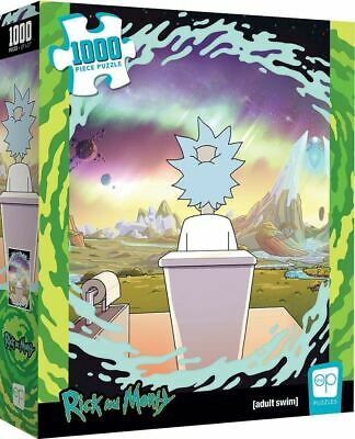 Cuy Games - 1000 PIEZAS - RICK AND MORTY -