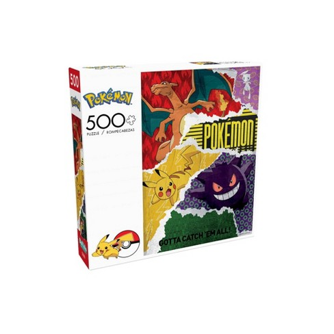 Cuy Games - 500 PIEZAS - POKEMON URBAN GRIT -
