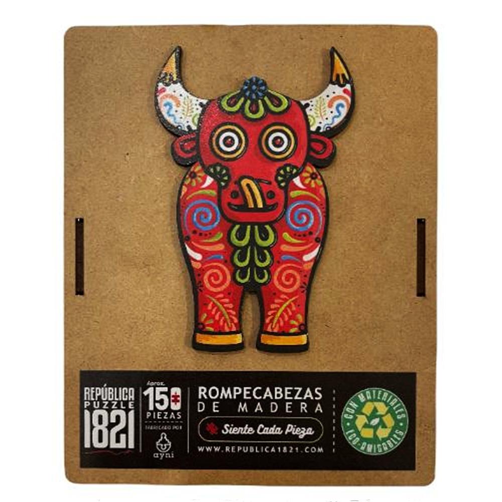 Cuy Games - 150 PIEZAS - TORITO DE PUCARA -